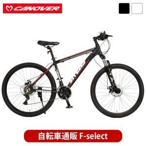 マウンテンバイク 自転車 26インチ ブロックタイヤ アルミ製 24段変速 ディスクブレーキ  CA...