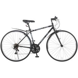 クロスバイク 700c 自転車 シマノ21段変...の詳細画像3