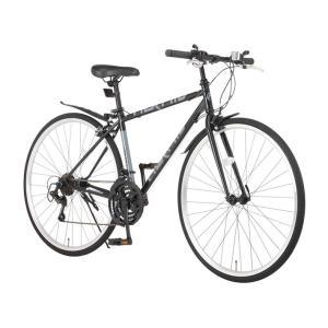 クロスバイク 700c 自転車 シマノ21段変...の詳細画像4