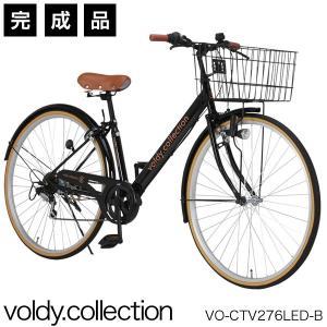 8カラーから選べるおしゃれな27インチシティサイクル。 V型低床フレーム設計で、乗り降りがしやすいオ...