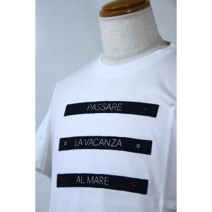 SS SALEラウラフェリーチェ 48サイズ半袖Tシャツ128-5507-11 HT*L|f-shop1975