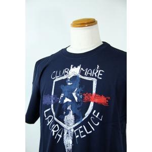 SS SALEラウラフェリーチェ 48-50サイズ半袖Tシャツ128-5508-27 HT*L HT*2L|f-shop1975