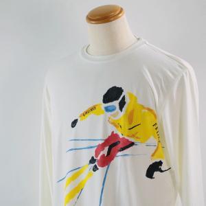 ラウラフェリーチェ 46-50サイズ長袖Tシャツ131-5101-12 LT*M LT*2L|f-shop1975