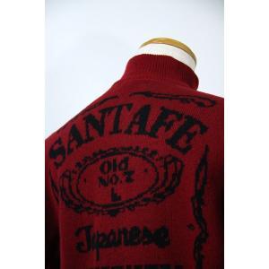 サンタフェ 48-52サイズ カーディガン16813-65 KN*L KN*2L KN*3L f-shop1975