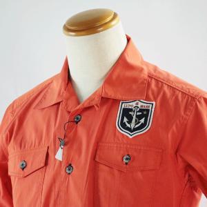 シナコバ Mサイズ 半袖シャツ18123510-580 HSH*M|f-shop1975