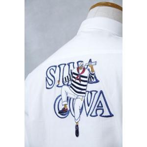 シナコバ Lサイズ 半袖シャツ18124510-1 HSH*L|f-shop1975