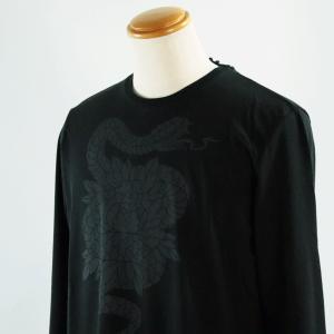 ハイドロゲン  M--XLサイズ長袖Tシャツ214608-007 LT*M  LT*L LT*2L|f-shop1975