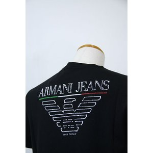 SS20%OFF  AJアルマーニジーンズ L-3XLサイズ 半袖Tシャツ3Y6T06-6J1FZ-1200 HT*L HT*2L HT*3L|f-shop1975