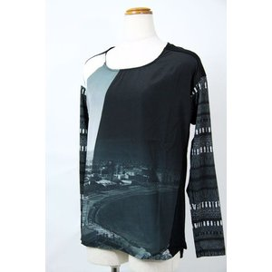 AW40%OFF◆f-shop◆デシグアルdesigual Lサイズ Tシャツ 47T2L00-2000 lady*|f-shop1975