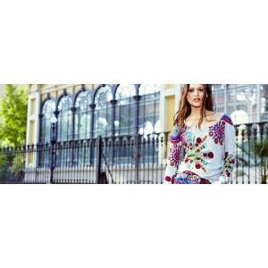 AW30%OFF◆f-shop◆デシグアルdesigual  M-Lサイズ セーター48J2104-2042 lady*|f-shop1975