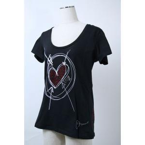 デシグアルdesigual  Mサイズ Tシャツ 51T25D6-2000 lady*|f-shop1975