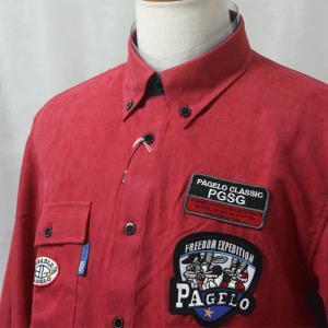 パジェロ 長袖シャツ61-1135-45 LSH*M LSH*L LSH*2L|f-shop1975
