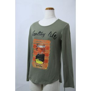 AW30%OFF Green Pluck 38サイズ カットソー646496-3 lady* AWCS|f-shop1975