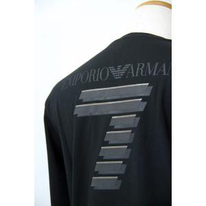 AW 30%OFF EA7 EMPORIO ARMANI L-3XLサイズ長袖Tシャツ6XPT83-PJ18Z-1200  LT*L  LT*2L  LT*3L アルマーニ|f-shop1975