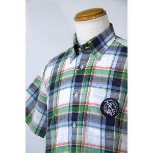 バジエ 46-50サイズ 半袖シャツ7220-1522-91 HSH*L HSH*2L|f-shop1975