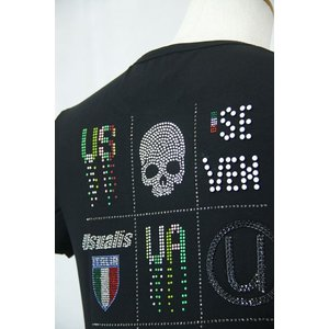 USUALIS   ウザリス Tシャツ81-2513-60-05 HT*M  HT*L HT*2L|f-shop1975