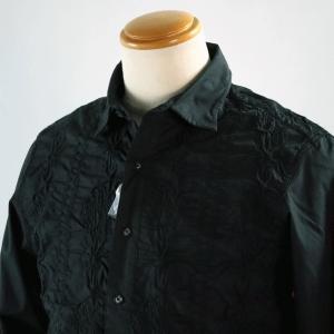 SS30%OFF サンタフェ 48サイズ レース刺繍長袖シャツ85416-19 LSH*L|f-shop1975