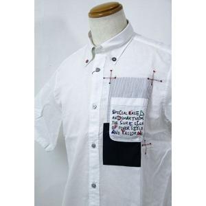 SS30%OFF◆f-shop◆サンタフェ★50サイズ 半袖シャツ85801-1 HSH*2L f-shop1975