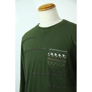 AW30%OFF サンタフェ50サイズ長袖Tシャツ94420-29 LT*2L|f-shop1975