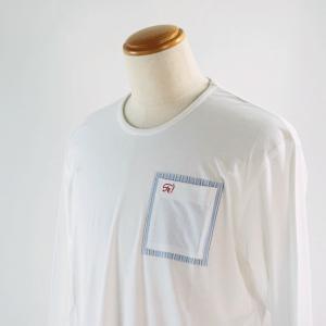 SS30%OFF  サンタフェ 52サイズ長袖Tシャツ95410-1 LT*3L|f-shop1975
