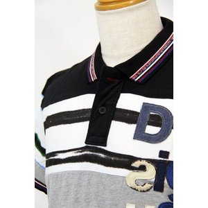 SS30%OFF デシグアルdesigual  Lサイズ半袖ポロシャツLT1451 HPS*L|f-shop1975