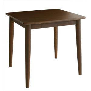 ダイニングテーブル 2人用 食卓テーブル テーブル 天然木 北欧 無垢材 おしゃれ 幅75cm f-syo-ei