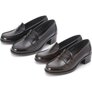 (B倉庫)HARUTA ハルタ 4603 レディース ローファー 通学 学生 靴 3E ヒール高4.5cm足長モデル 送料無料|fa-core