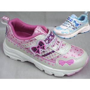 (A倉庫)瞬足レモンパイ C-797 子供靴 スニーカー 女の子 キッズ シューズ 靴 リボン おんなのこ kids sneaker 靴ネット通販コア独占販売モデル|fa-core