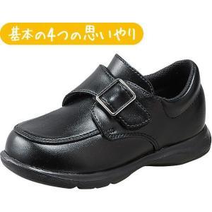 (B倉庫)ムーンスター Carrot キャロット CR C2091 子供靴 キッズ シューズ 男の子 バックルタイプ フォーマルシューズ|fa-core