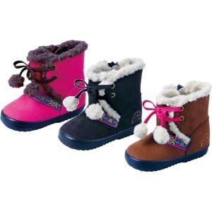 (A倉庫)OshKosh オシュコシュ OSK WB098 ベビーブーツ ウィンター ボア付きブーツ 子供靴 子供ブーツ キッズ 女の子 防寒 撥水加工 ムートン風|fa-core