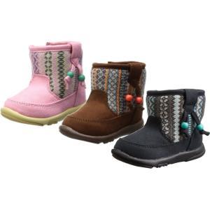 (A倉庫)OSH KOSH オシュコシュ OSK B98 ベビーブーツ 女の子 キッズ ベビー 子供靴 ベビーシューズ ブーツ 靴|fa-core