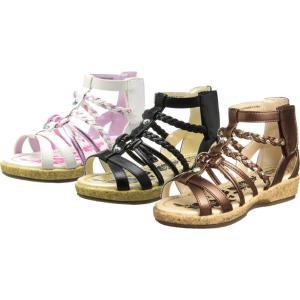 (A倉庫)OSH KOSH オシュコシュ OSK C351 子供サンダル 女の子 キッズ 子供靴 カジュアル サンダル グラディエーターサンダル キッズサンダル|fa-core