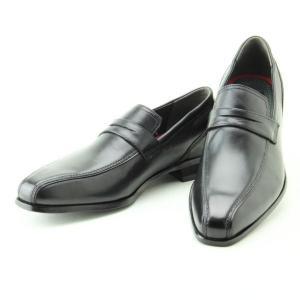 (B倉庫)madras マドラス MDL DS4063 メンズビジネスシューズ 革靴 本革 ロングノーズ ローファー 紳士靴|fa-core