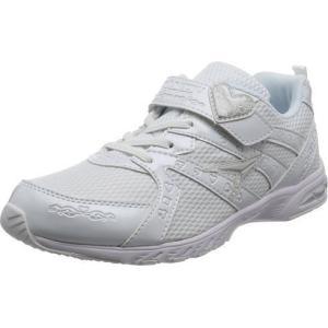 (A倉庫)瞬足レモンパイ 427  LEJ 4270 子供靴 スニーカー キッズ ジュニア シューズ 女の子 靴 2E 白 ハート|fa-core