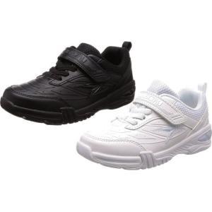 (A倉庫)瞬足 シュンソク JJ-502  SJJ 5020 子供靴 スニーカー キッズ ジュニア シューズ 男の子 女の子 靴 2E 黒 白 合皮 コートタイプ|fa-core