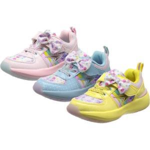 (A倉庫)瞬足レモンパイ C-529 LEC 5290 SYUNSOKU CREAM 子供靴 スニーカー 女の子 靴 キッズ ジュニア シューズ 2018年モデル