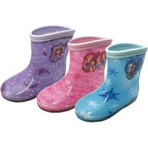 (B倉庫)DISNEY ちいさなプリンセス ソフィア プリンセス アナと雪の女王 子供長靴 ディズニー 7401 7402 7403 レインシューズ キッズ レインブーツ 女の子|fa-core