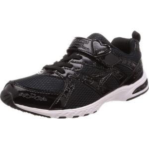 (A倉庫)瞬足レモンパイ 427  LEJ 4270 子供靴 スニーカー キッズ ジュニア シューズ 女の子 靴 2E 黒 ハート|fa-core