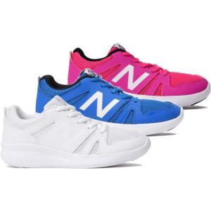 (B倉庫)new balance ニューバランス 紐靴タイプ NB YK570 BL PK WW 子供靴 スニーカー ジュニア 男の子 女の子 シューズ 靴 送料無料|fa-core