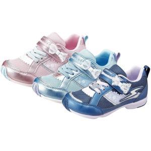 (A倉庫)スーパースター SS K934 ムーンスター バネのチカラ パワーバネ 子供靴 スニーカー 女の子 リボン キッズ シューズ 靴 2019年モデル|fa-core