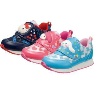 (A倉庫)アサヒ サンリオ P071  S/R P071 キャラクターシューズ 子供靴 スニーカー 女の子 キッズ ベルクロ ハローキティ マイメロディ シナモロール|fa-core