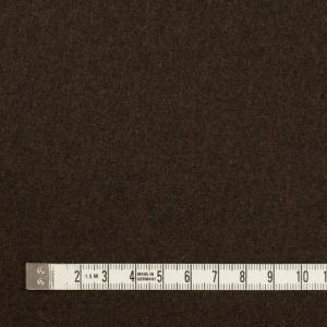 ウール&ナイロン×無地(ダークブラウン)×メルトンの詳細画像3