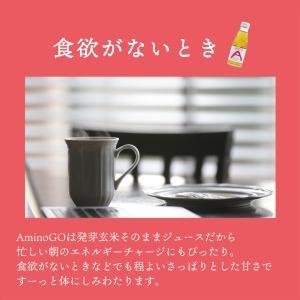 AminoGO(アミノジーオー) スッキリやさしい甘さの発芽玄米ジュース fabala 06