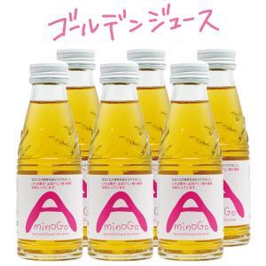 AminoGO(アミノジーオー)  6本セット スッキリやさしい甘さの発芽玄米ジュース|fabala