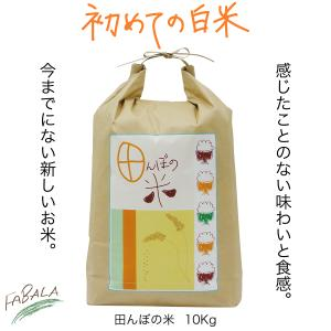 田んぼの米 10kg 昔懐かしいお米の味|fabala