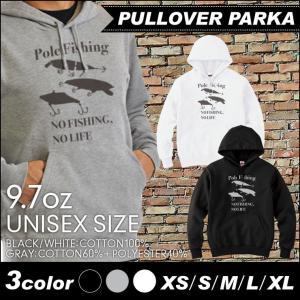 デザイン パーカー ブラック グレー ホワイト XS S M L XL  ユニセックス メンズ レディース スウェット プルオーバー 釣り グッズ フィッシング 毛針|fabian