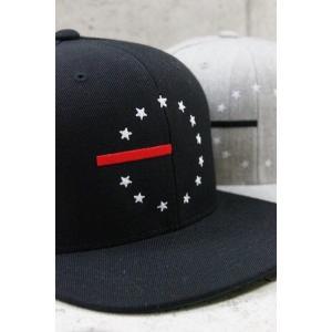 完売 BLACK SCALE【ブラックスケール】13 STARS& STRIPE SNAPBACK CAP スナップバック キャップ 2色展開