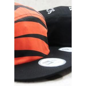 最新 BLACK SCALE【ブラックスケール】TIGERSTRIPE CAMPER NEW ERA CAP キャップ ニューエラ 2色展開