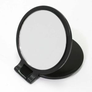 母の日プレゼント 細かい部分のメイク&スキンケアに。 10倍拡大鏡と普通鏡のセット 普通の鏡では見づ...
