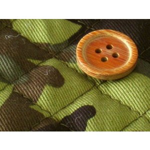 生地 50cm単位キルティング 迷彩柄 (森林迷彩) [実店舗共有品]  布 キルト 1200K-100B|fabrichouseiseki